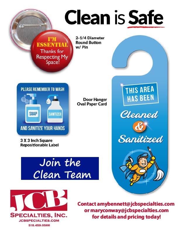 Clean Team flyer